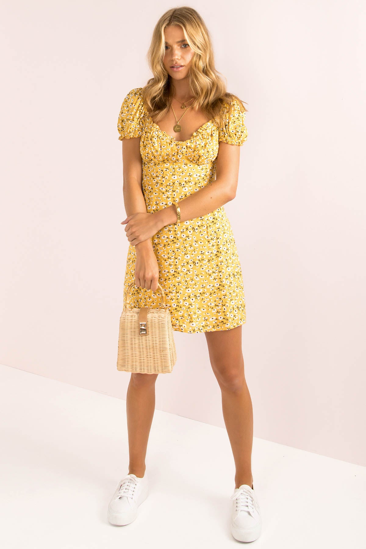 Cooper Dress / Yellow
