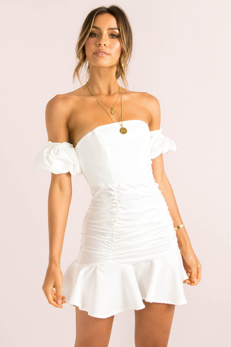 Harriet Dress / White