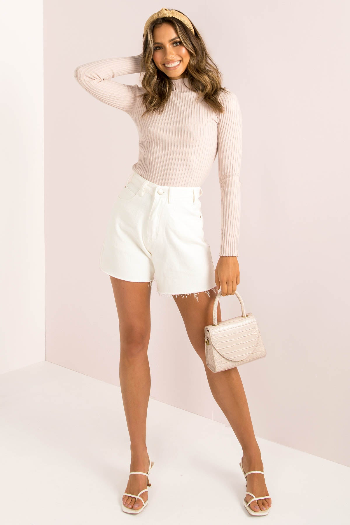 Piper Top / Blush