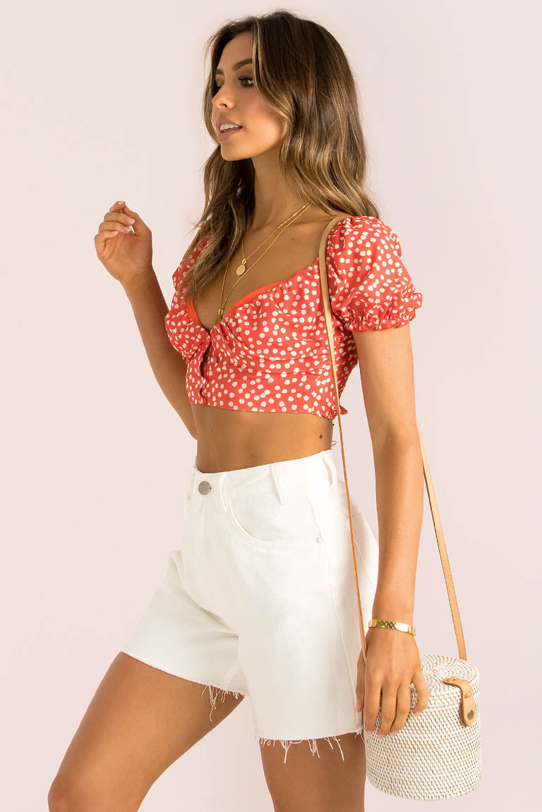 Diana Top / Red