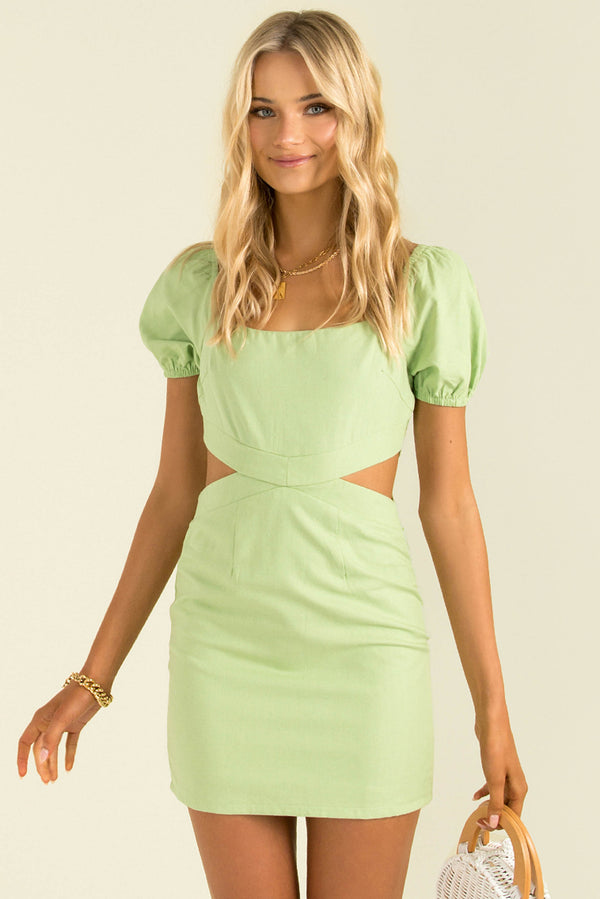Tully Dress / Lime