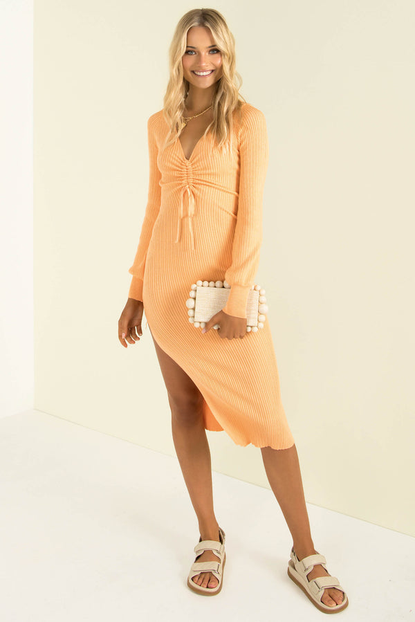 Veronica Dress / Orange