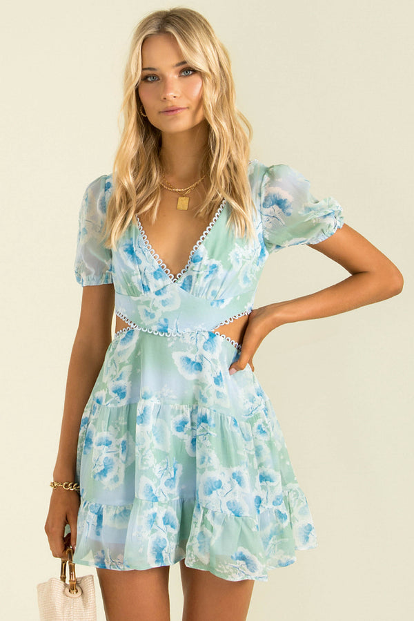 Misha Dress / Blue