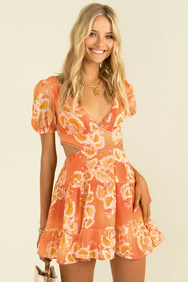 Misha Dress / Orange