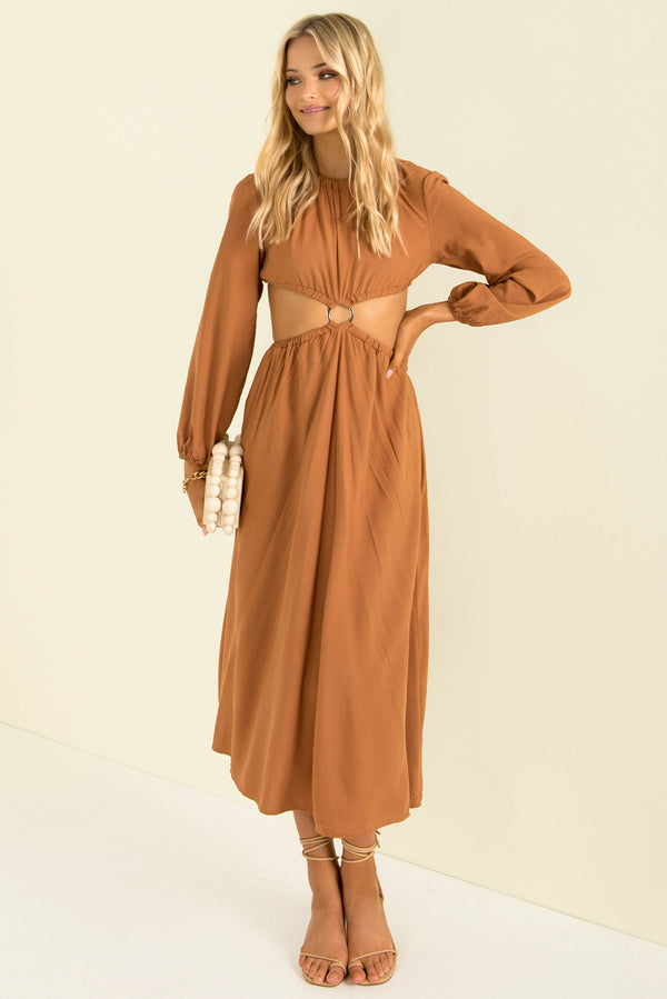 Jasie Dress / Tan