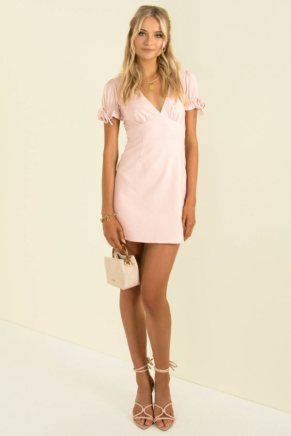 Amalfi Dress / Baby Pink