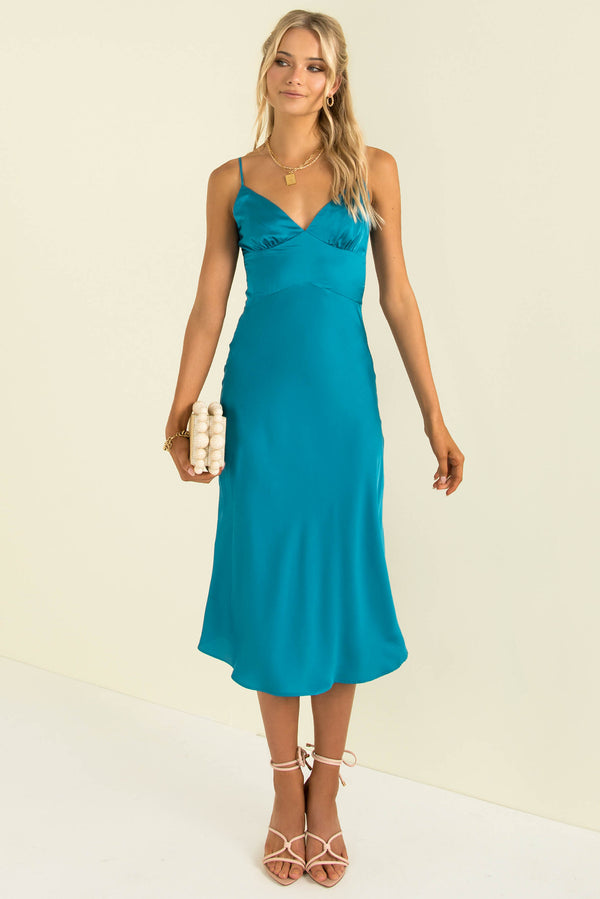 Tyra Dress / Teal