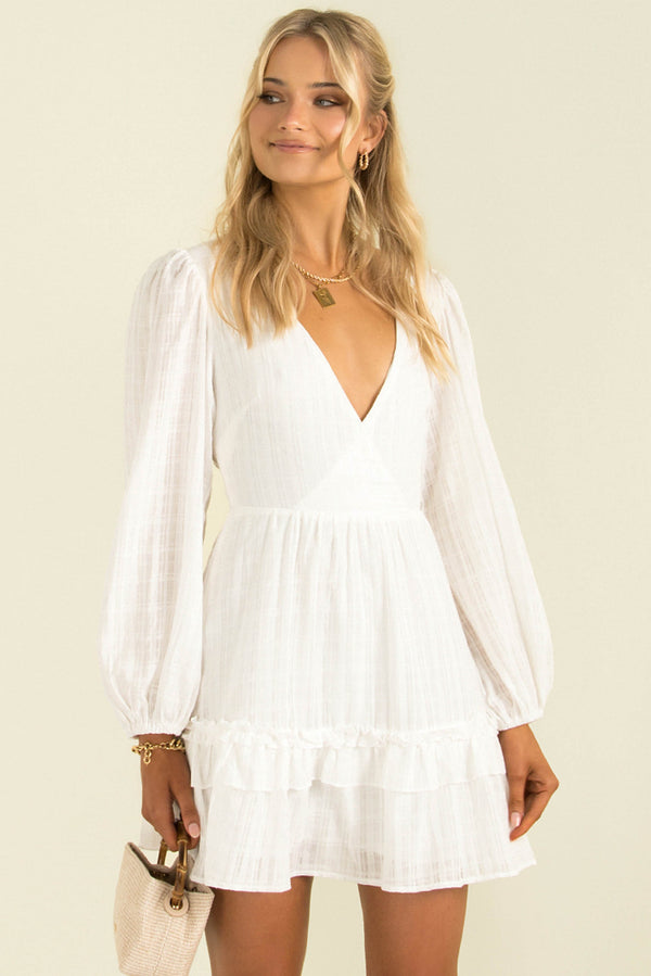 Danika Dress / White