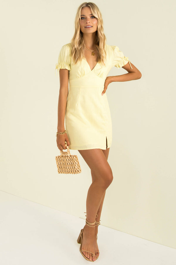 Amalfi Dress / Lemon