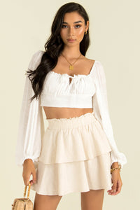 Fiorella Top / White