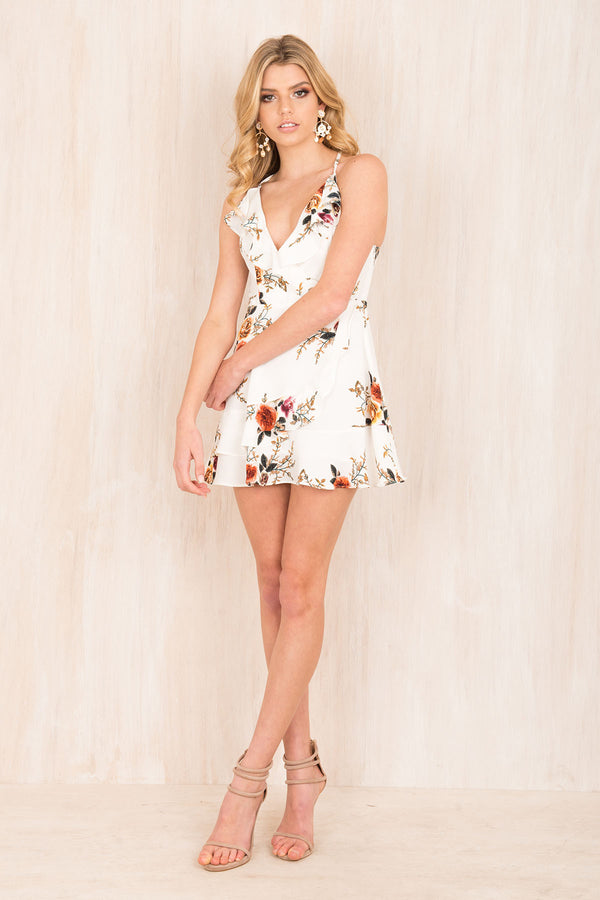 White Blossom Dress