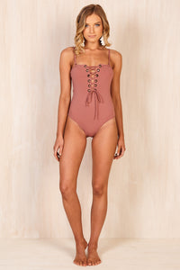 Dusty Rose One Piece