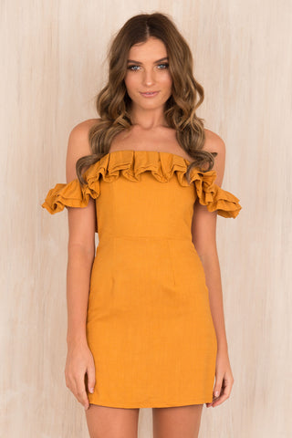 Senorita Ruffle Dress