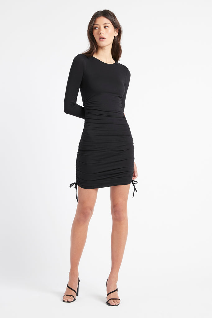 Jamie Long Sleeve Mini Dress