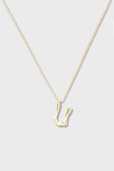 U - Initial Necklace