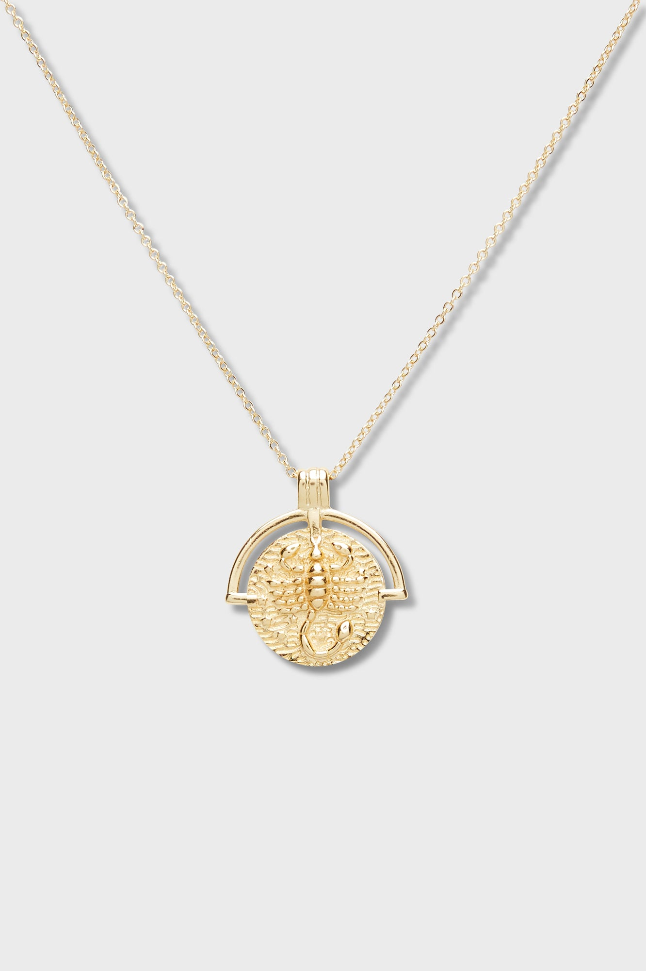 Astrology Necklace - Scorpio