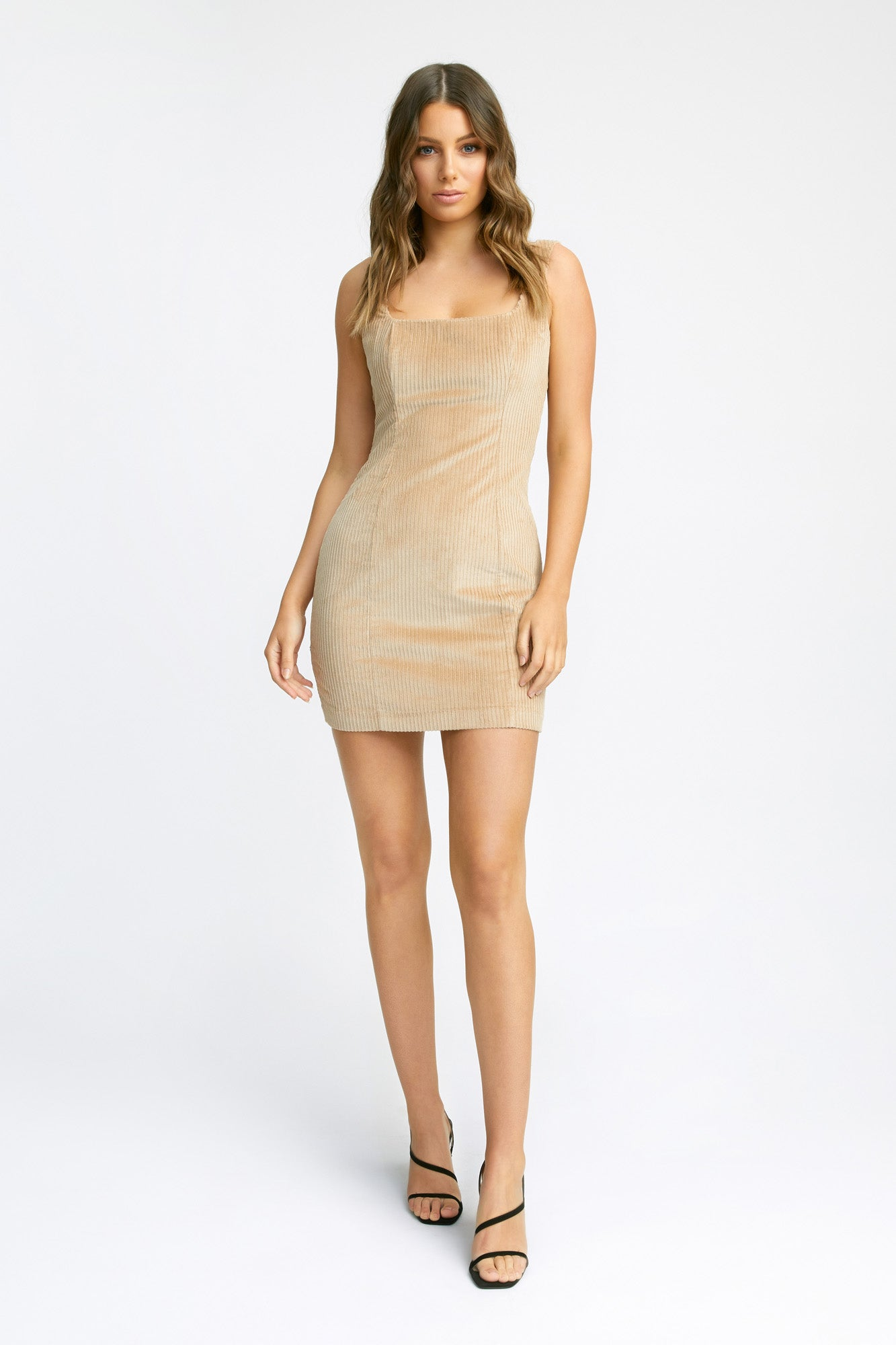 Corduroy Mini Dress