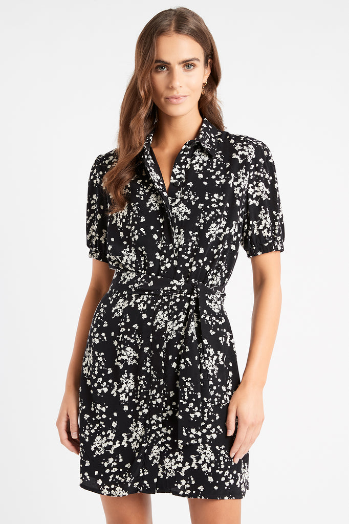 Andrea Mini Shirt Dress
