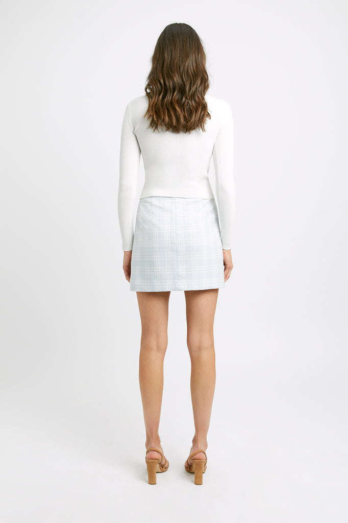Brando Check Mini Skirt