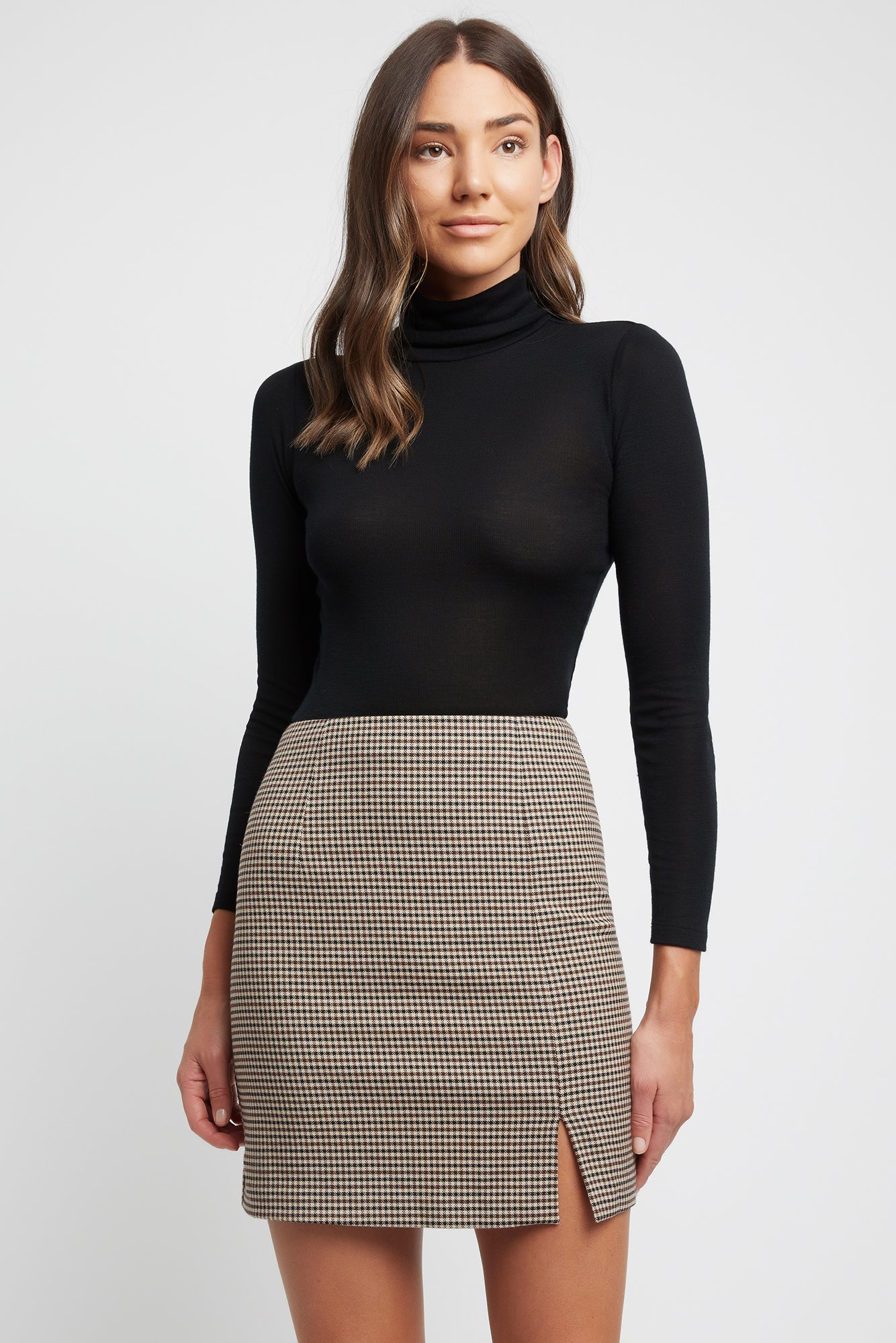 Watson Check Mini Skirt
