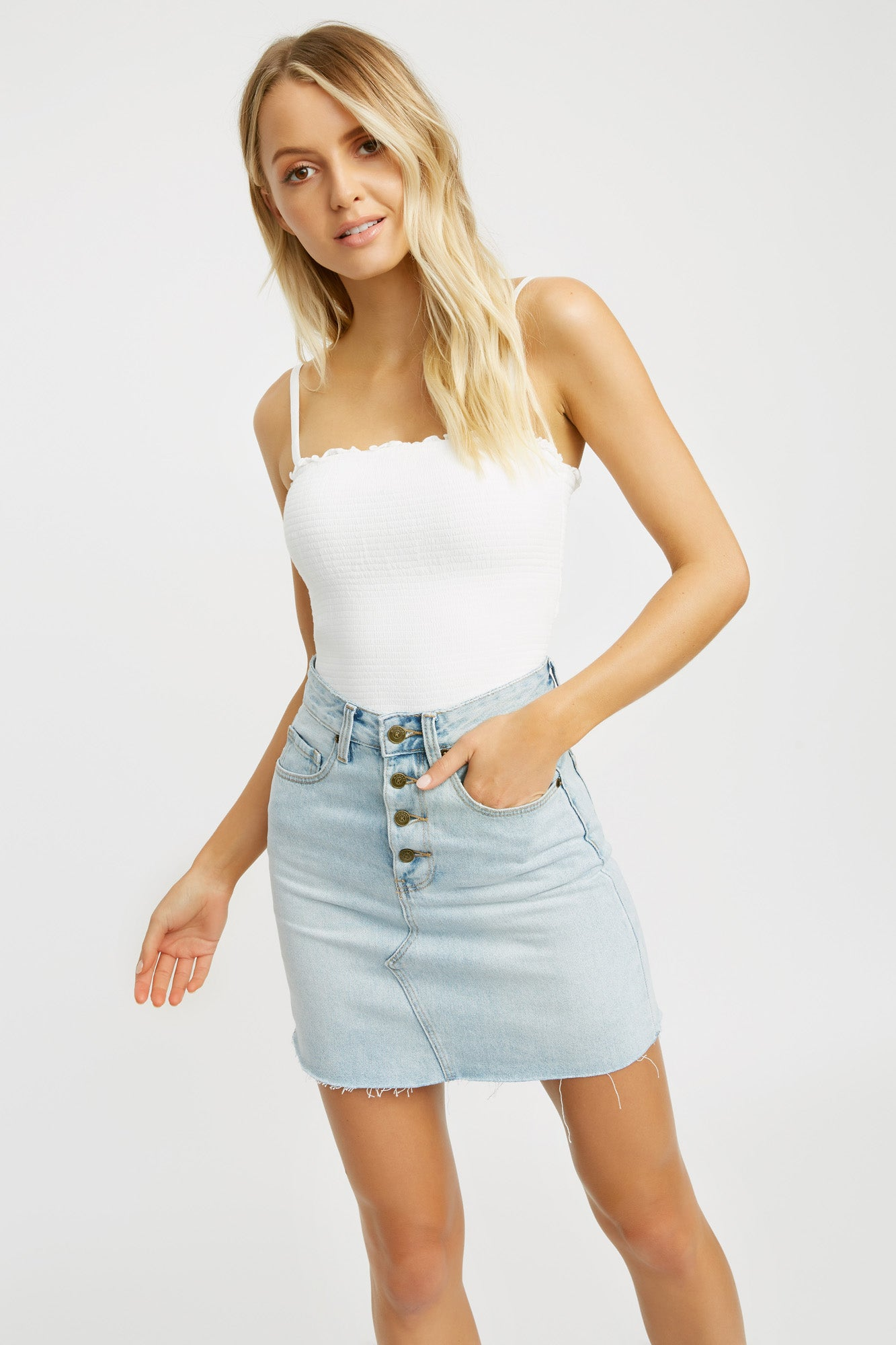 Lola Tiered Top