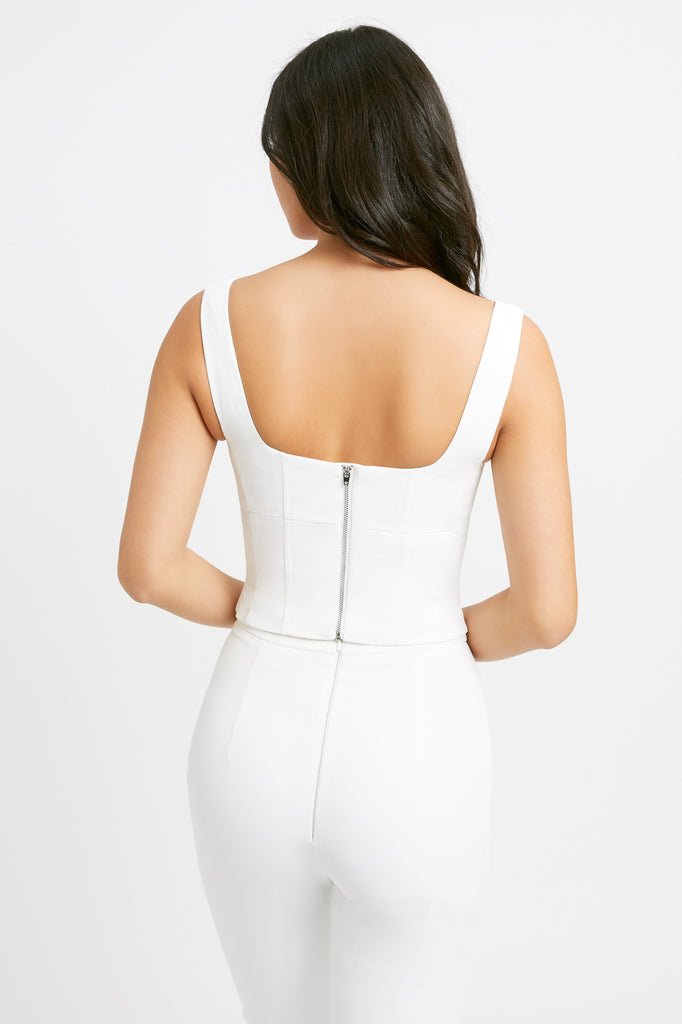 Oyster Bustier Top