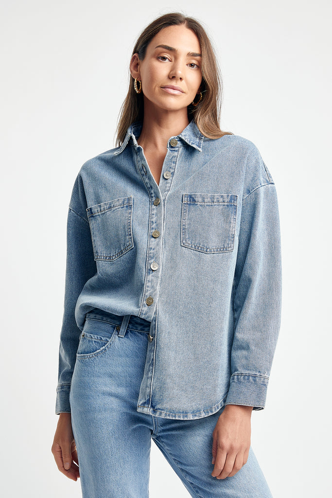 Kaylee Denim Shirt