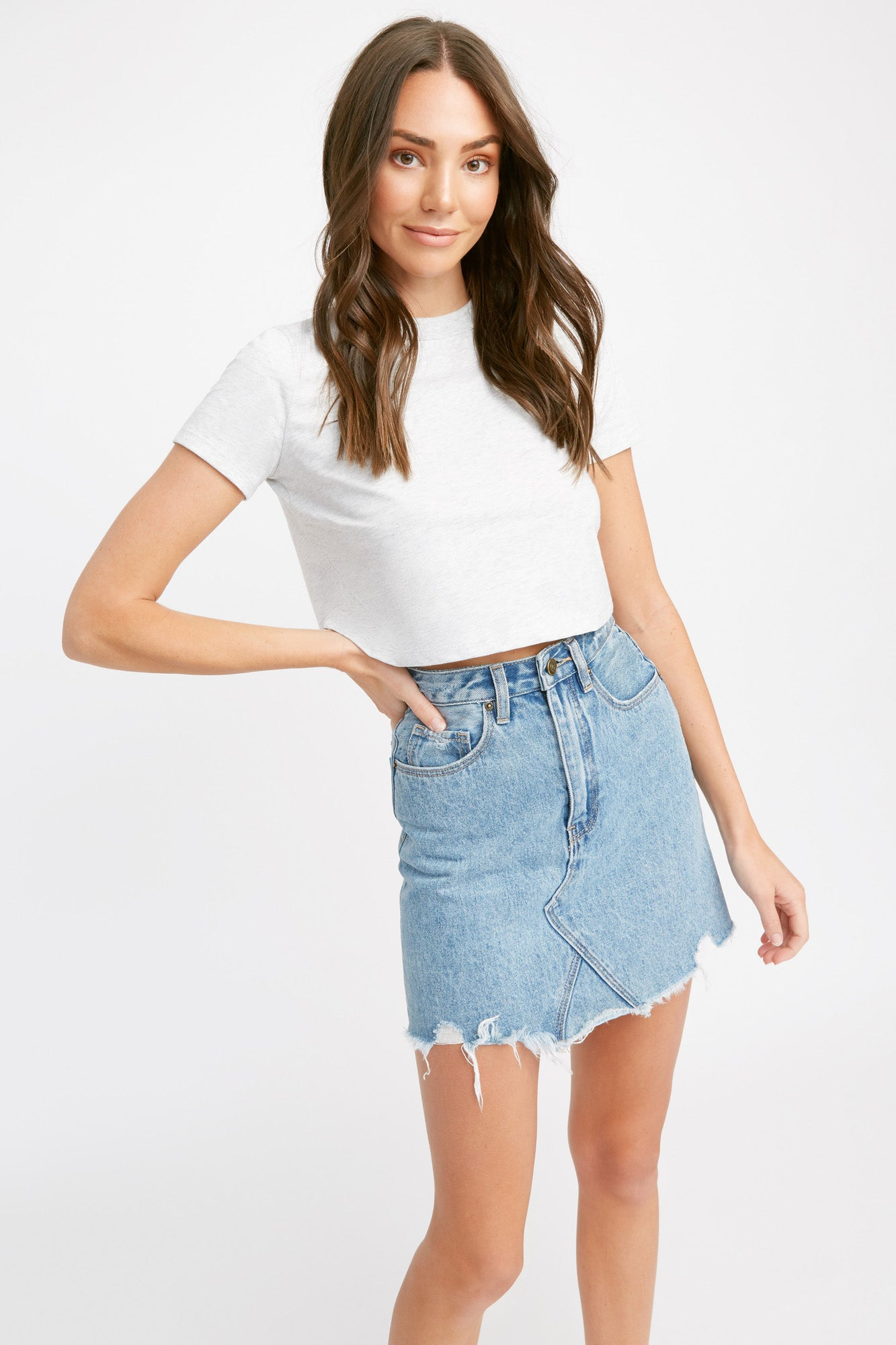 Light Essential Crop Tee