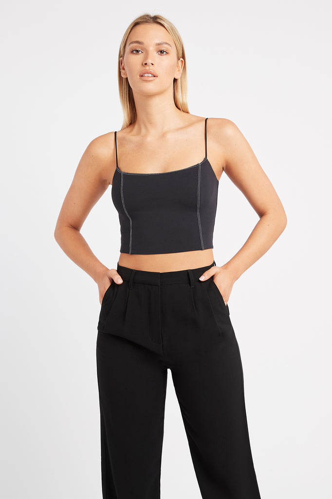 Lara Strappy Crop Top