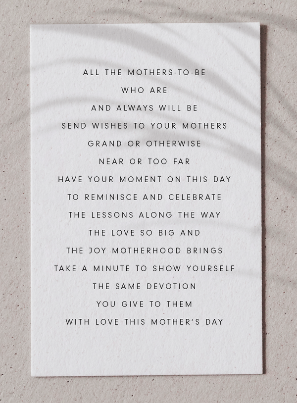 WITH LOVE THIS MOTHER'S DAY