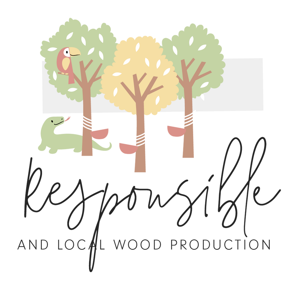 Responsible wooden toys