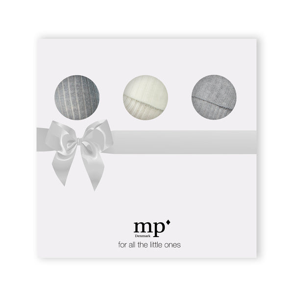MP Denmark Tights & Socks Box Set in Grey Marl - Avery Row