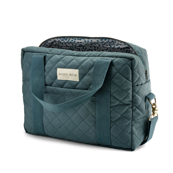 Baby Changing Bag - Ocean Blue - Avery Row