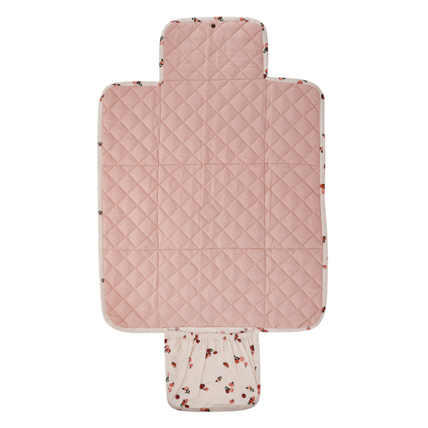 Travel Baby Changing Mat - Peaches - Avery Row