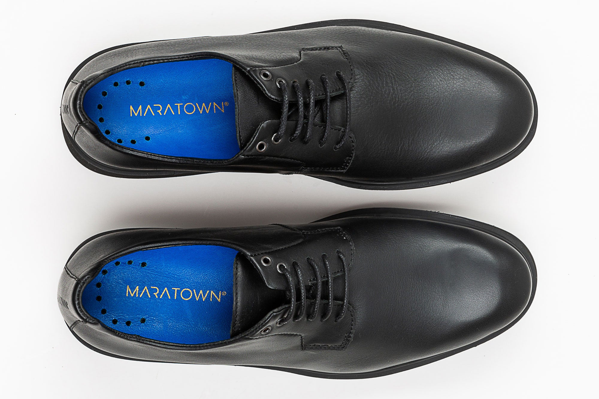 84dcf74467c ... Most Comfortable Mens Dress Shoes For Work - MARATOWN - super cushioned  sole - most comfortable ...