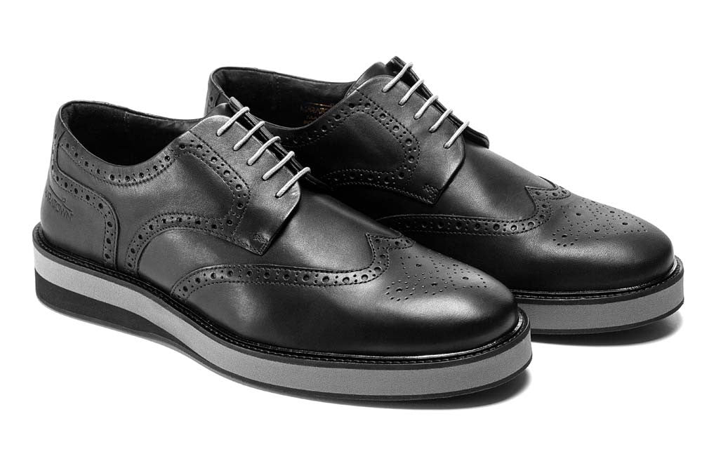 Most Comfortable Mens Brogues, Cushioned, MARATOWN