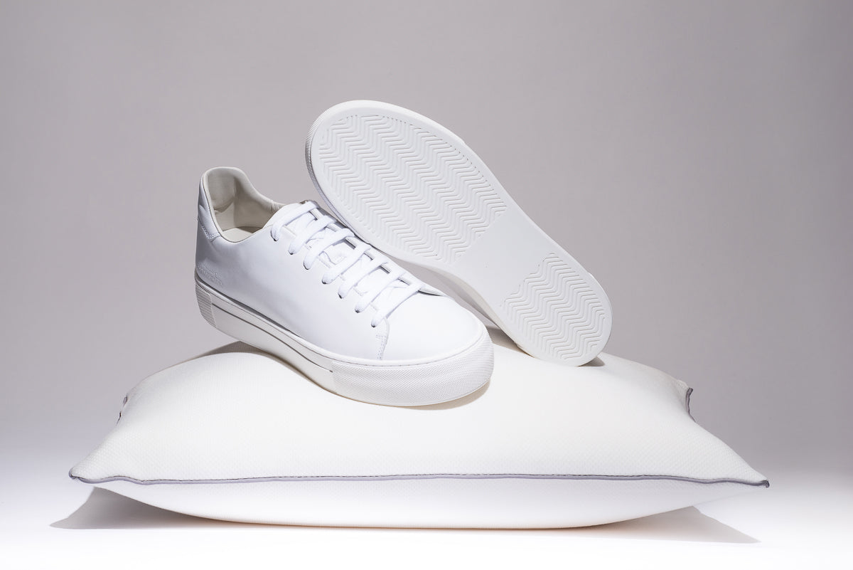 most comfortable white sneakers