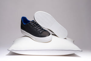 Blue Limited Edition, Black & White - MARATOWN - super cushioned sole - most comfortable shoes