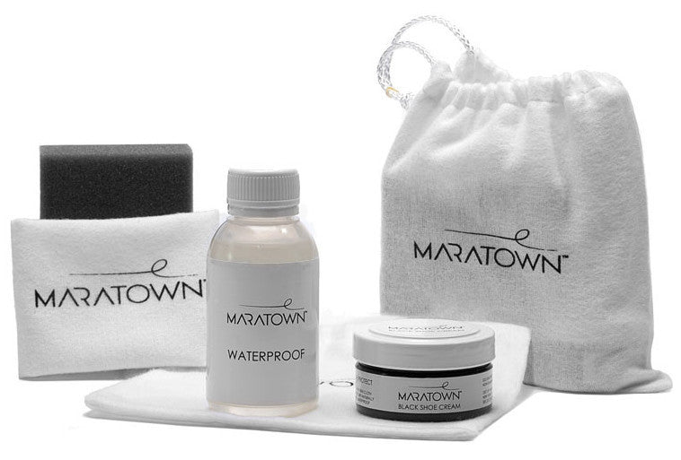 Travel Shoe Care Kit - MARATOWN - super cushioned sole - most comfortable shoes