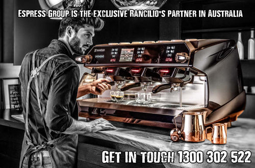 The Espress group is the exclusive Rancilio partner in Australia