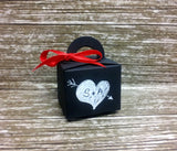 Wedding Favor Box - Chalkboard Blackboard