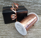 Copper Curling Ribbon Shiny Metallic