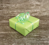 Pastel Green Curling Ribbon-Light Green Ribbon