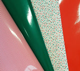 Candy Cane Themed Xmas Paper