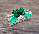 Cute Xmas Wrapping Paper Candy Cane Sprinkles Roll