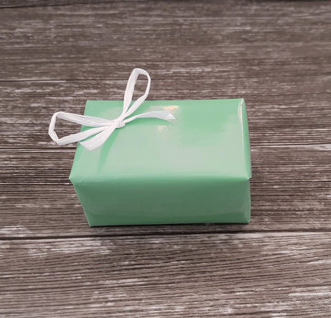 Glossy Pastel Green Wrapping Paper Roll