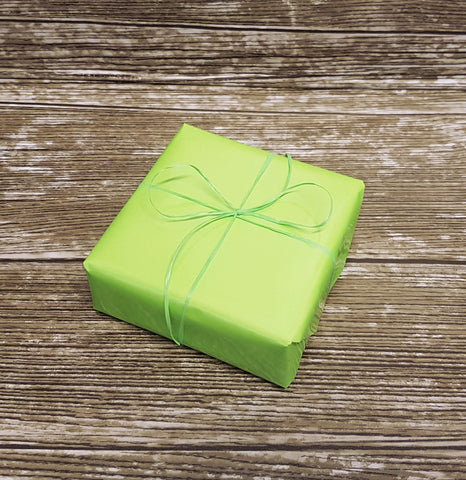 Lime green glossy plain wrapping paper-lime green gift wrap roll
