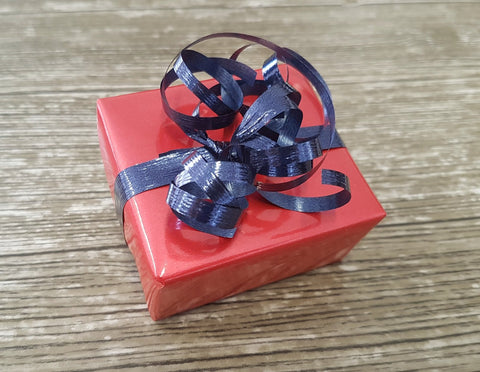 Glossy Metallic Pinky Red Gift Wrap Roll