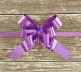 Purple Gift Bow - medium