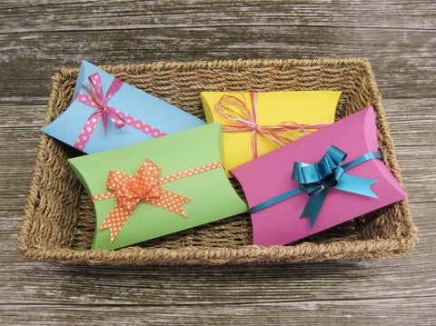 Childrens gift boxes-Brightly Coloured Gift Boxes